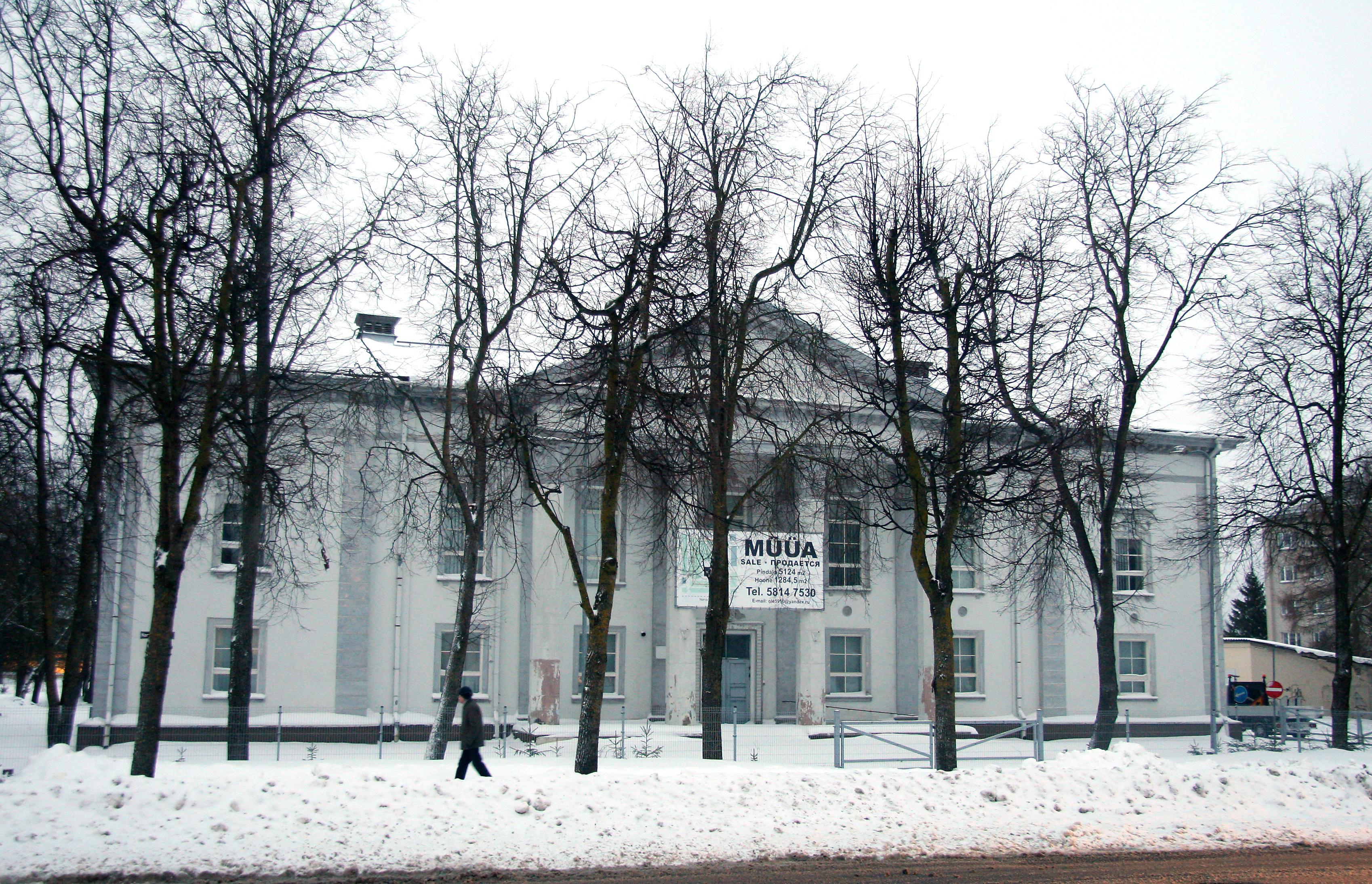 Jõhvi kunagise kultuurimaja omanik läks valla vastu kohtusse